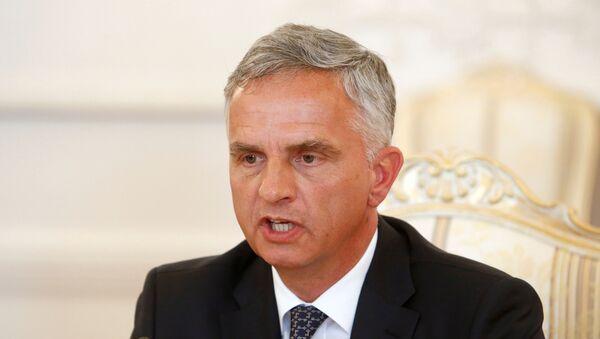 Didier Burkhalter, ministro de Exteriores de Suiza - Sputnik Mundo