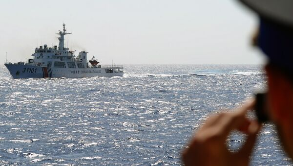 Nave china en el mar de la China Meridional - Sputnik Mundo
