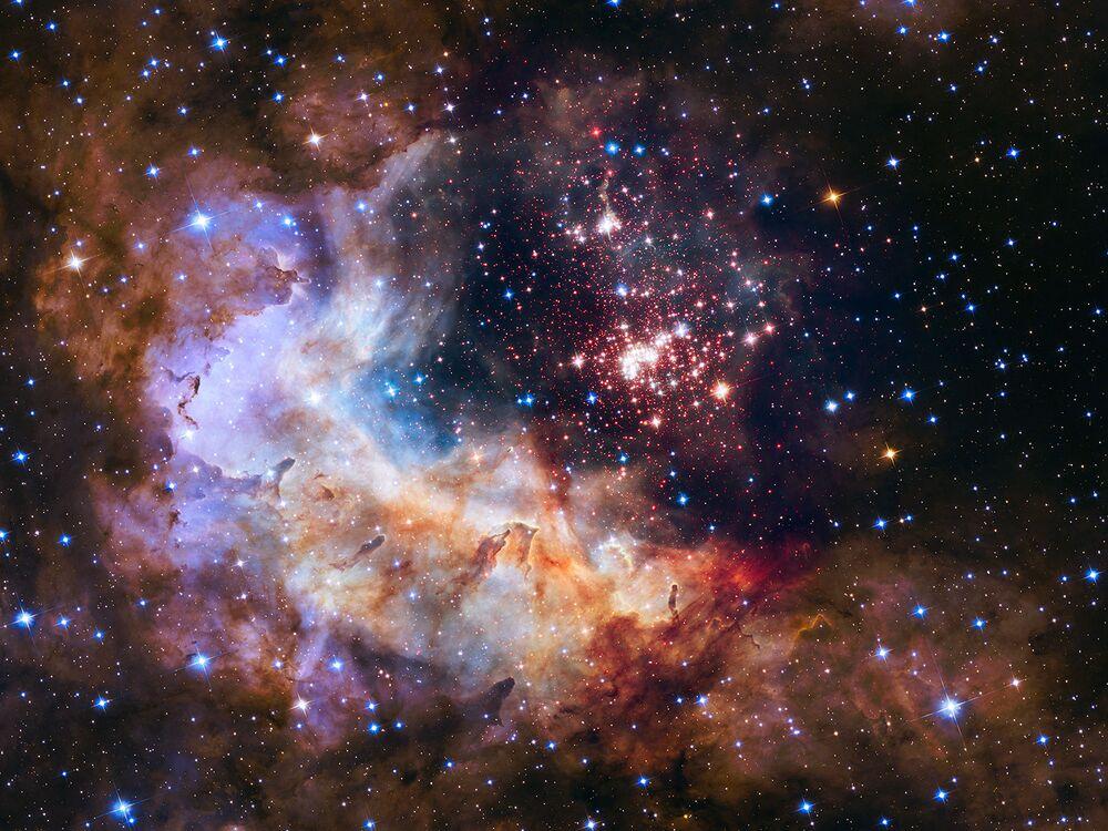 Raras estrellas, misteriosas galaxias y otras maravillas cósmicas