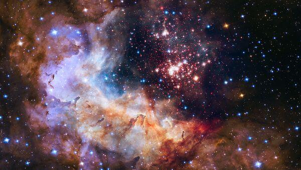 El espacio (foto hecha con el telescopio Hubble) - Sputnik Mundo