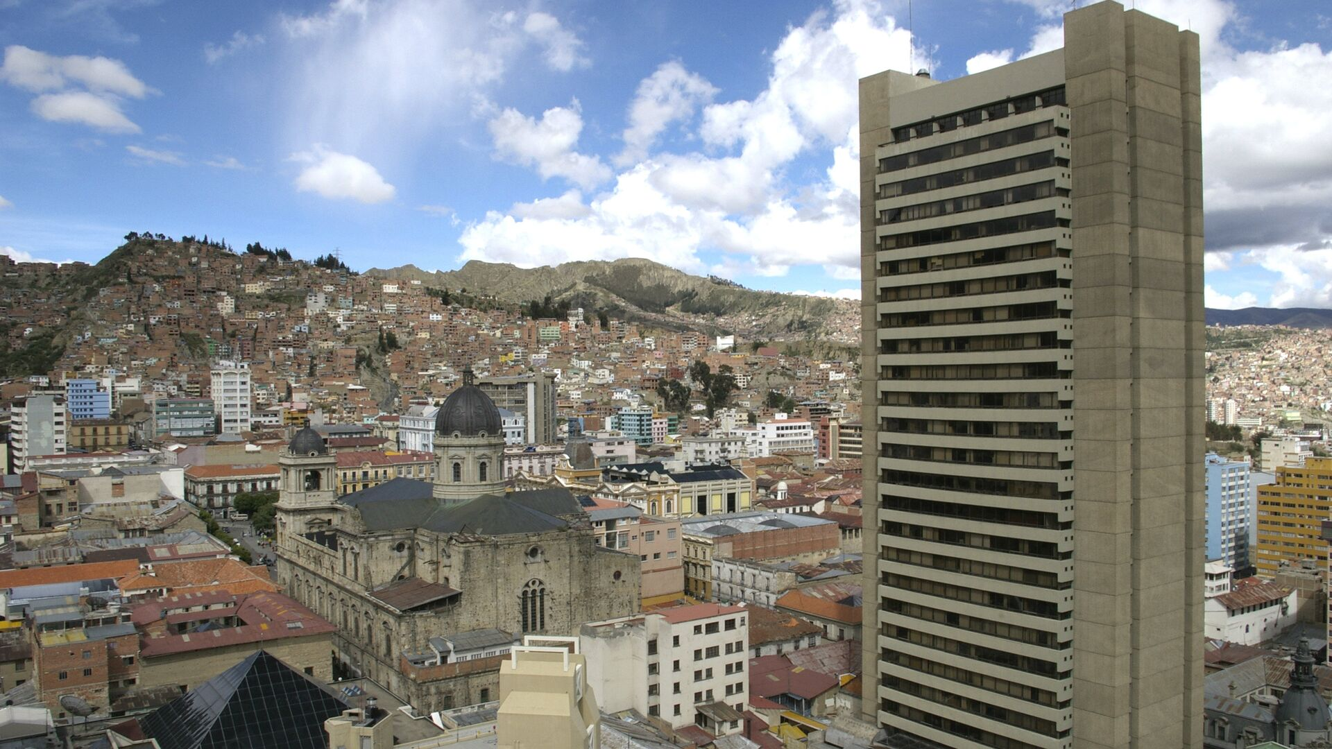 La Paz, la capital de Bolivia - Sputnik Mundo, 1920, 26.05.2021