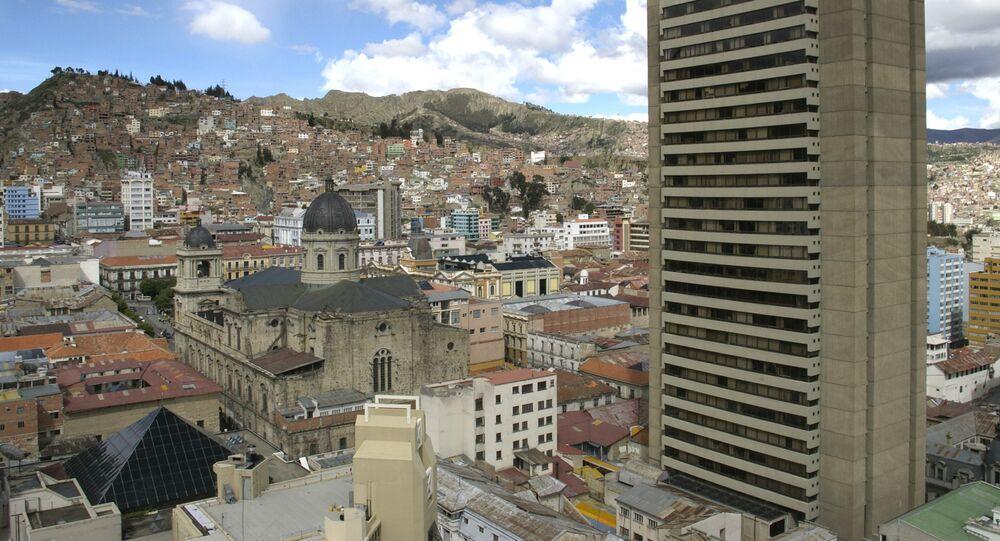 La Paz, la capital de Bolivia