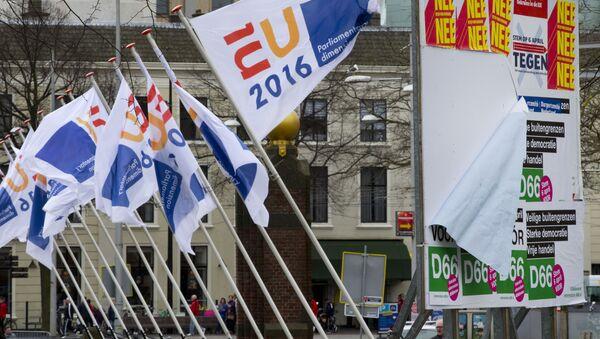 Referéndum sobre la asociación entre Ucrania y la UE en los Países Bajos - Sputnik Mundo