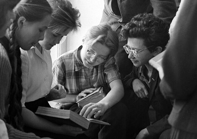Alumnos soviéticos