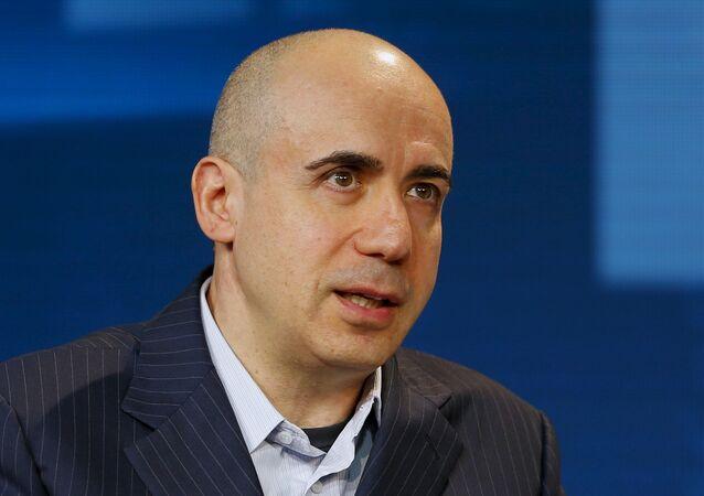 Yuri Milner, el empresario ruso y fundador de Breakthrough Initiatives (archivo)