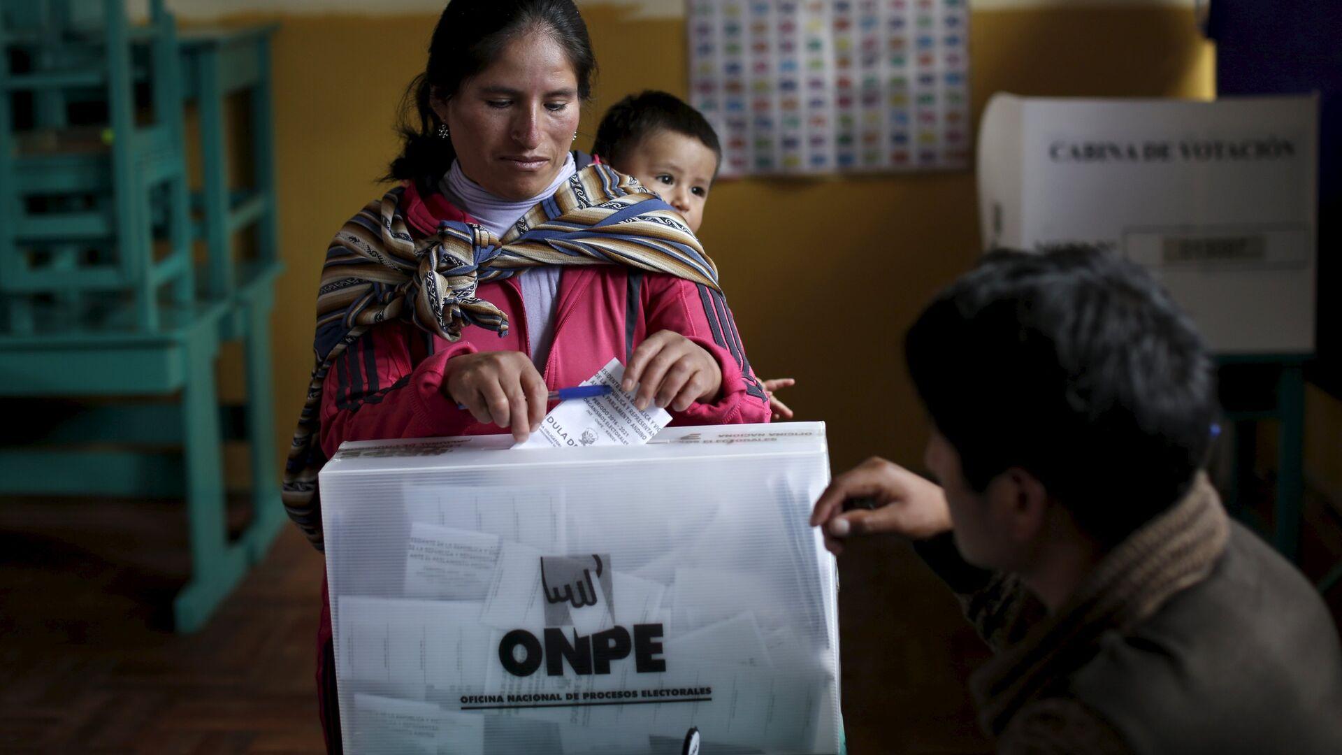Elecciones en Perú (Archivo) - Sputnik Mundo, 1920, 26.05.2021