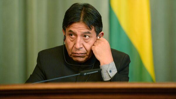David Choquehuanca, canciller de Bolivia - Sputnik Mundo