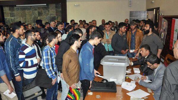 Elecciones parlamentarias en Siria - Sputnik Mundo