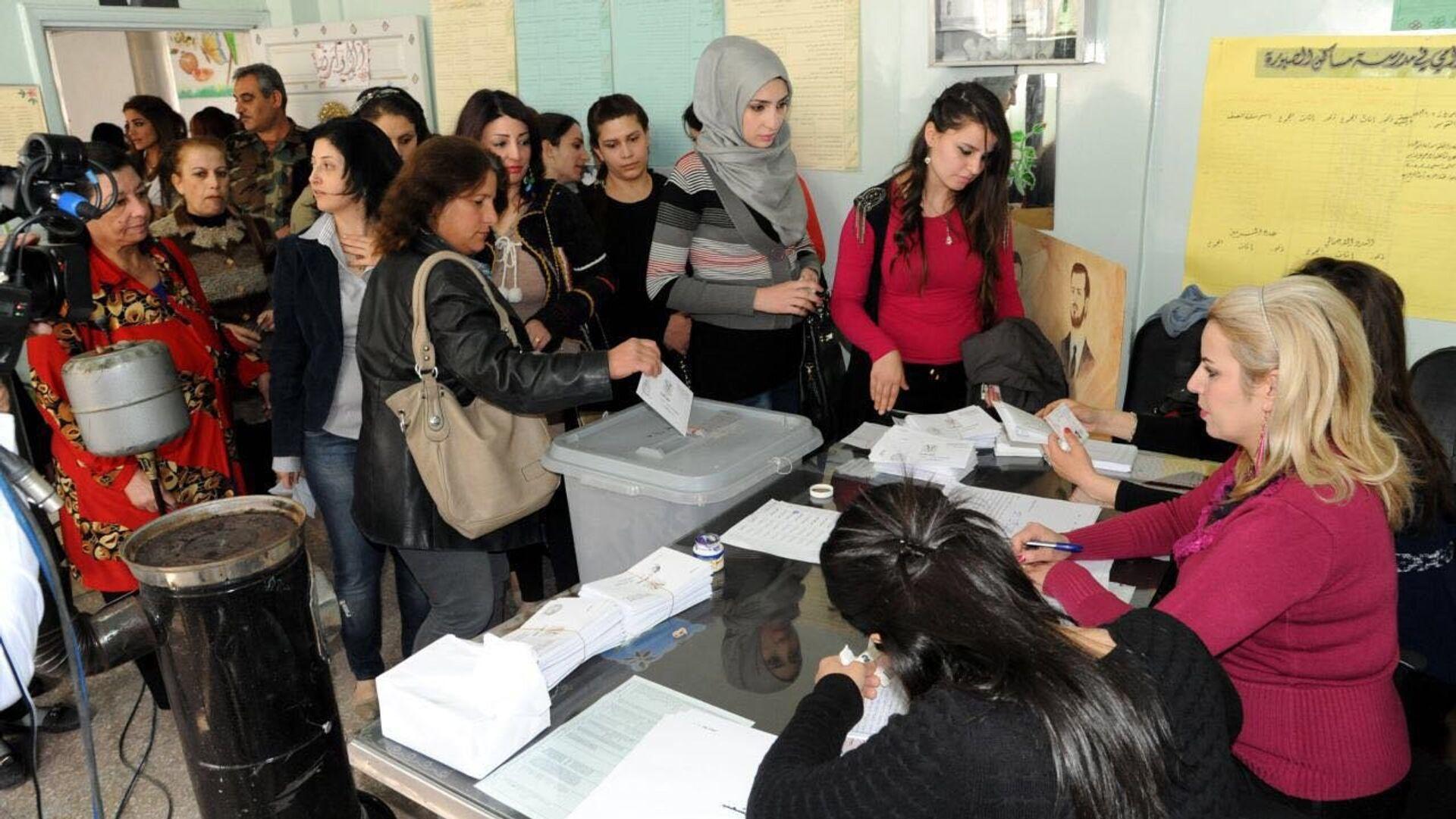 Elecciones parlamentarias en Siria  - Sputnik Mundo, 1920, 19.04.2021