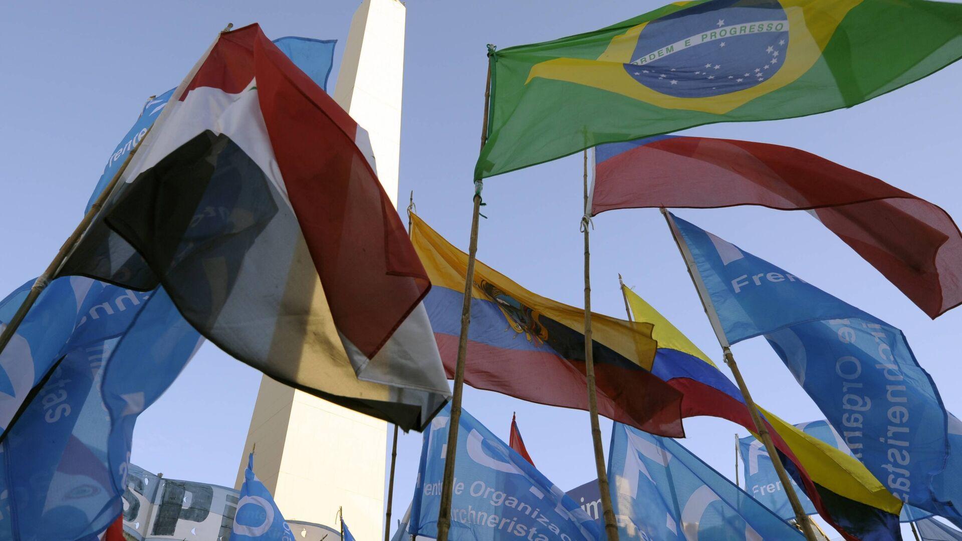 Banderas de Mercosur  - Sputnik Mundo, 1920, 12.03.2021