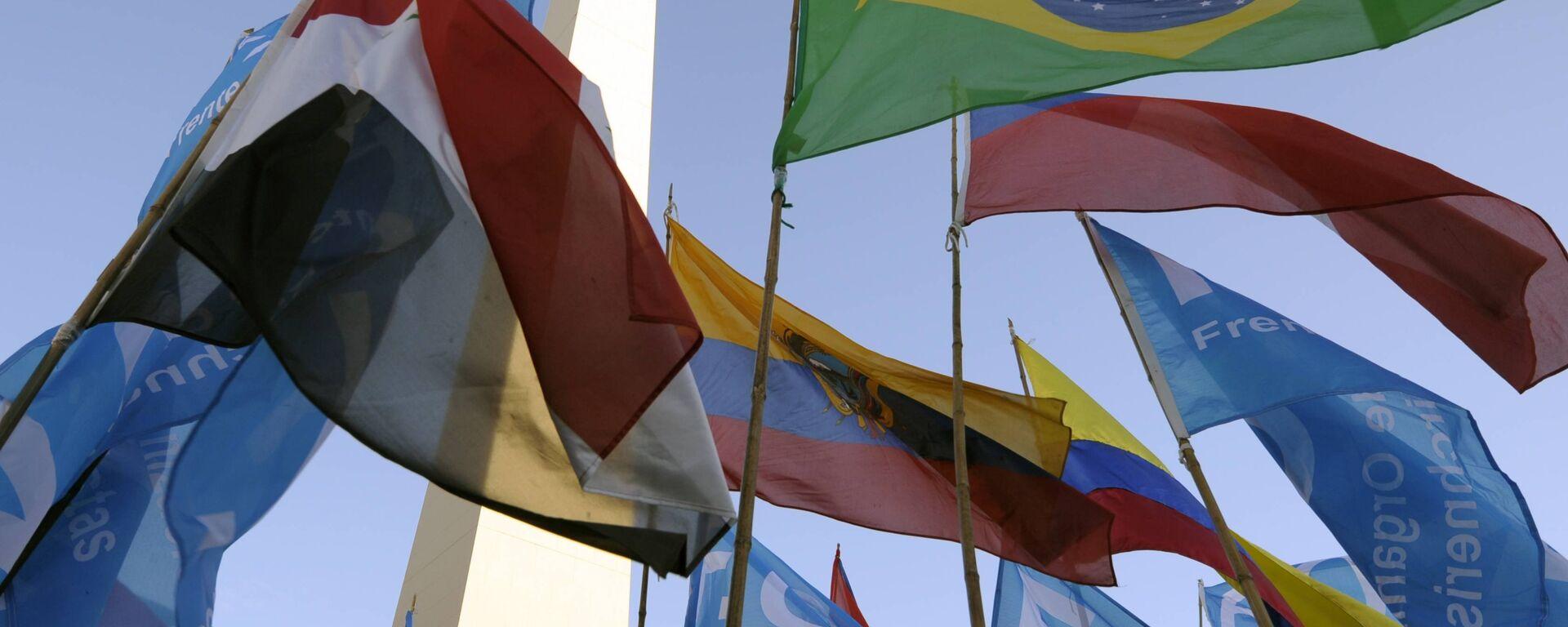 Banderas de Mercosur  - Sputnik Mundo, 1920, 24.03.2021