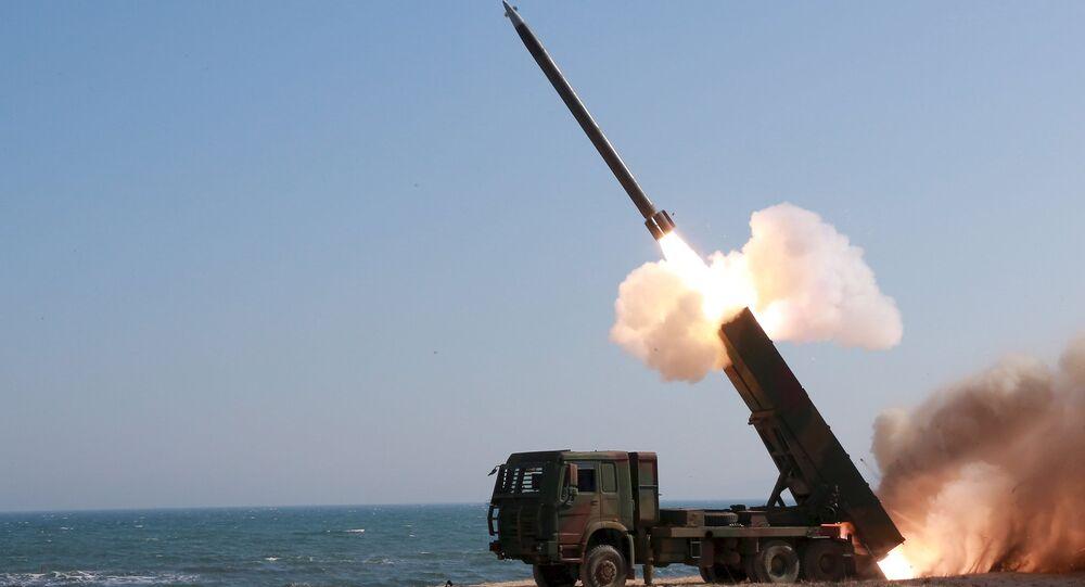 Un misil (archivo)