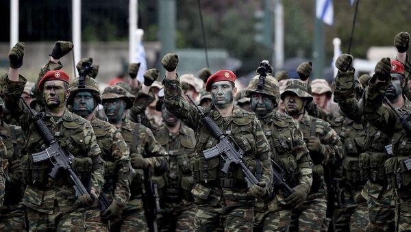 Soldados del Ejército de Grecia - Sputnik Mundo