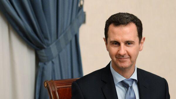 Встреча президента Сирии Башара Асада с делегацией российских парламентариев - Sputnik Mundo