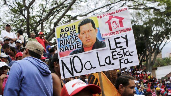 Marcha contra ley de vivienda, Venezuela - Sputnik Mundo