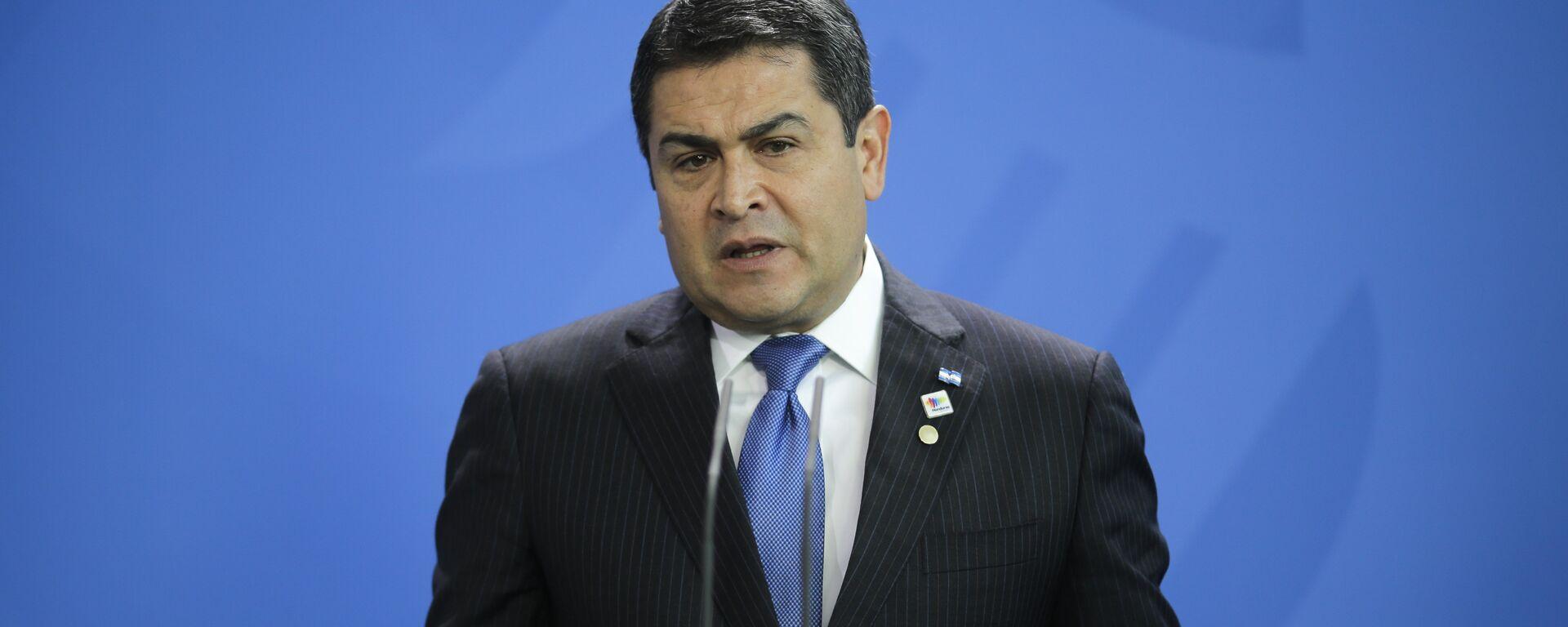 Juan Orlando Hernández, presidente de Honduras - Sputnik Mundo, 1920, 24.06.2021