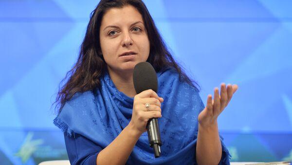 Margarita Simonián, redactora jefa de RT y Rossiya Segodnya - Sputnik Mundo