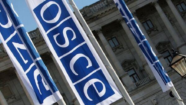 Banderas de OSCE - Sputnik Mundo