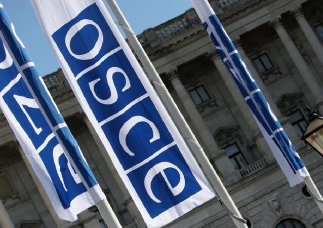 Banderas de OSCE