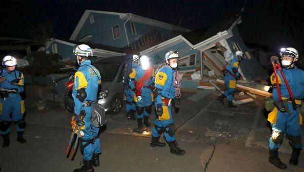 Consecuencias del terremoto en la prefectura de Kumamoto - Sputnik Mundo