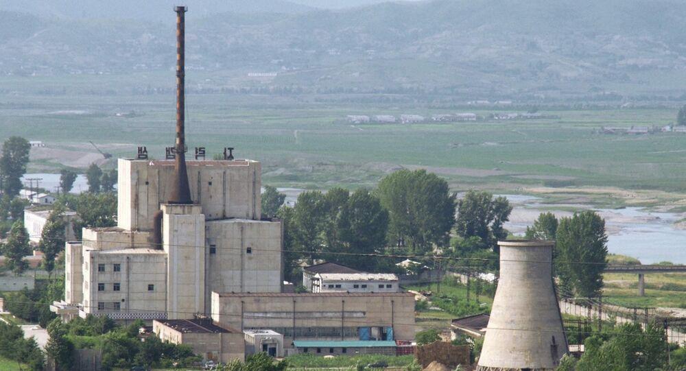 Centro nuclear de Yongbyon en Corea del Norte (archivo)
