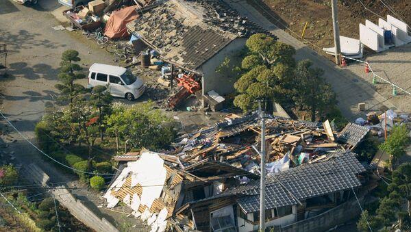 Terremoto en Japón, la prefectura de Kumamoto - Sputnik Mundo