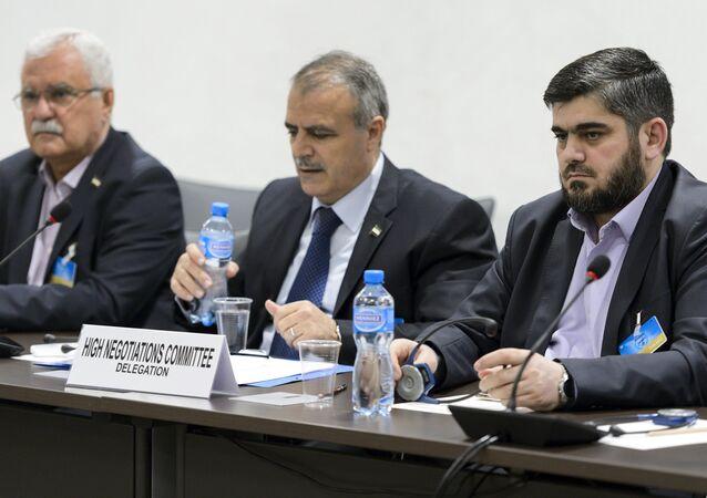 Miembros del Alto Comité de Negociaciones (ACN)