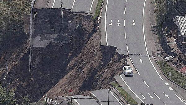 Consecuencias del sismo en Japón - Sputnik Mundo