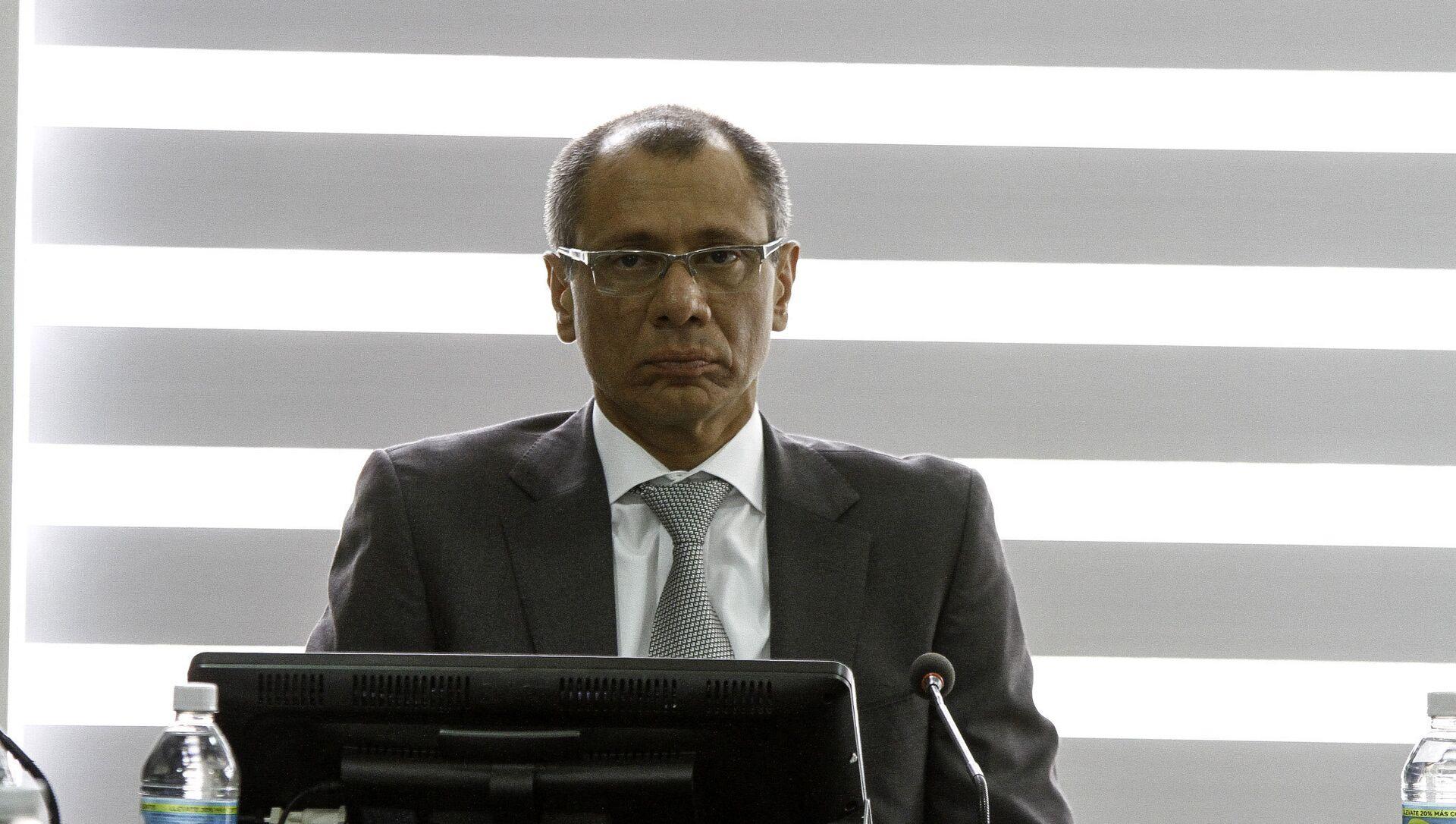 Jorge Glas, exvicepresidente de Ecuador - Sputnik Mundo, 1920, 30.11.2020