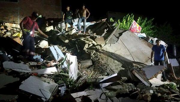Terremoto en Ecuador - Sputnik Mundo