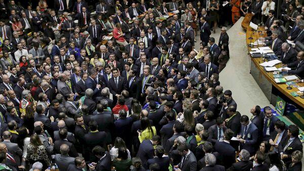 Cámara de Diputados en el Congreso de Brasilia, Brasil (archivo) - Sputnik Mundo