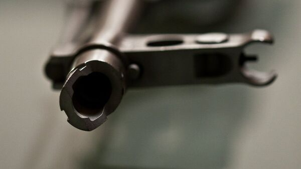Un fusil Kalashnikov - Sputnik Mundo