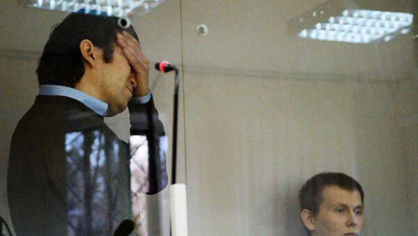 Ciudadanos rusos, Evgueni Eroféev y Alexandr Alexándrov, durante el proceso penal - Sputnik Mundo