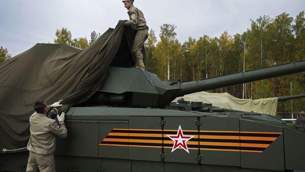 Tanque Armata (archivo) - Sputnik Mundo