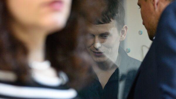 Alexandr Alexándrov, uno de los ciudadanos rusos condenados a 14 años de prisión por terrorismo - Sputnik Mundo