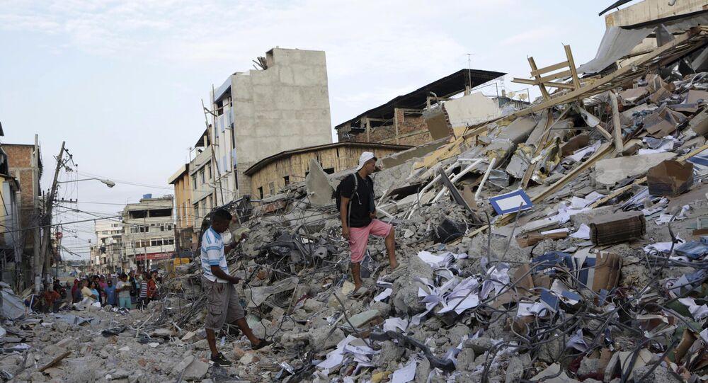 Consecuencias del sismo en Ecuador