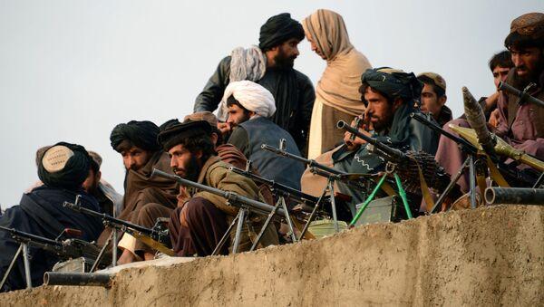 Combatientes de Talibán en Afganistán (archivo) - Sputnik Mundo
