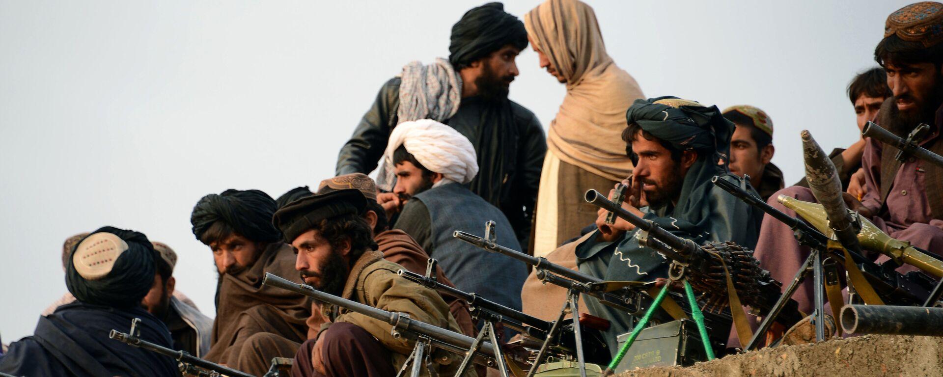 Combatientes de Talibán en Afganistán (archivo) - Sputnik Mundo, 1920, 12.08.2021