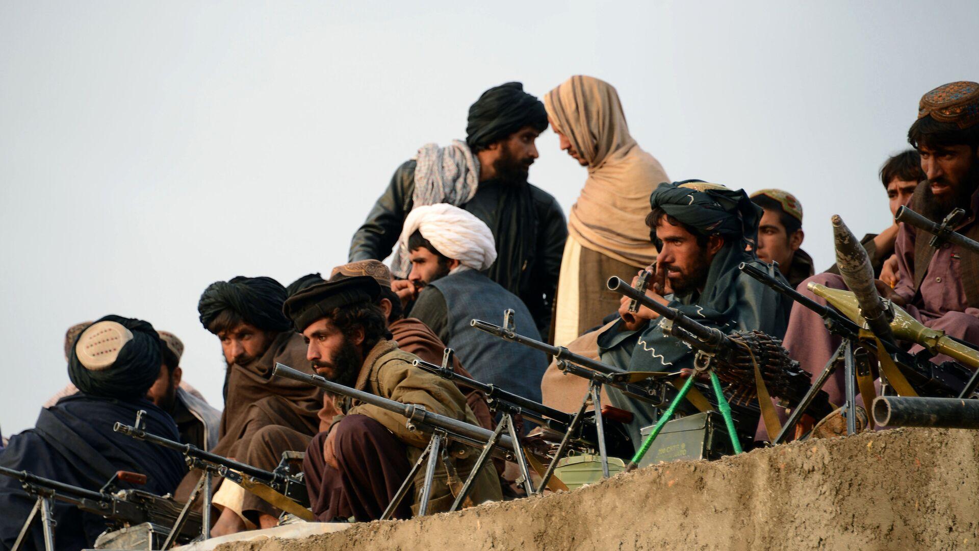 Combatientes de Talibán en Afganistán (archivo) - Sputnik Mundo, 1920, 19.07.2021