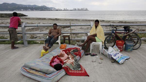 Un seísmo de 5,5 registrado frente a las costas de Ecuador - Sputnik Mundo