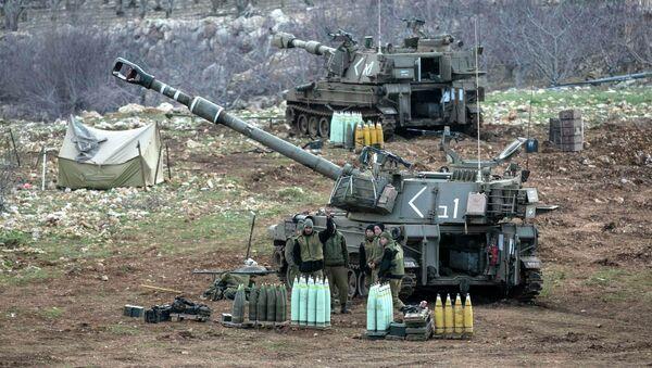 Las fuerzas israelíes en los Altos del Golán - Sputnik Mundo