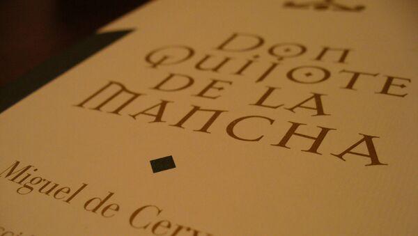La novela Don Quijote de la Mancha - Sputnik Mundo