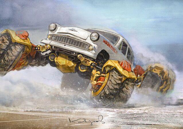 Mad Max a la soviética: el nuevo estilo de los coches antiguos