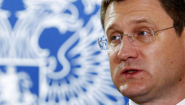 Alexandr Novak, ministro ruso de Energía - Sputnik Mundo
