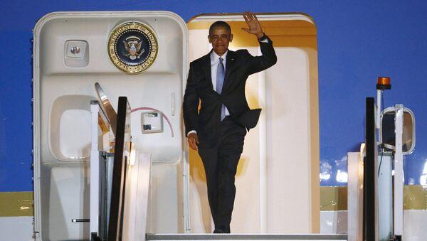 Barack Obama. el presidente de EEUUl lega a Londres - Sputnik Mundo