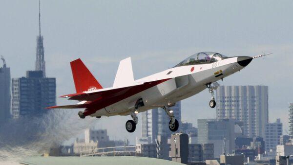 El prototipo del caza furtivo japonés, X-2 Shinshin - Sputnik Mundo