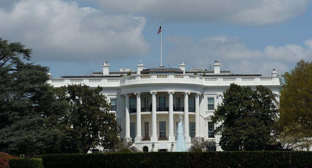 Residencia oficial del presidente de Estados Unidos, la Casa Blanca en Washington D.C.