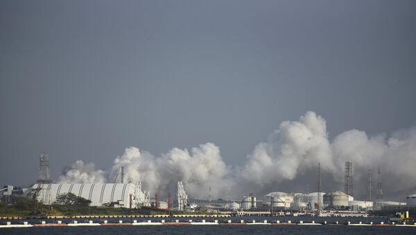 Explosión en el Complejo Petroquímico Pajaritos - Sputnik Mundo