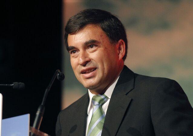 Juan Ramón Quintana, exministro de la presidencia de Bolivia