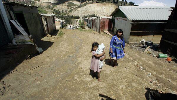 Familia indígena colombiana - Sputnik Mundo